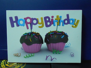 birthday video card manufacturing
