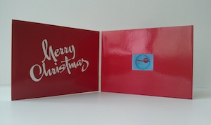 greeting video card manufacturing