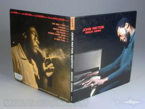 Blue Note vinyl style LP CD Cover packaging vintage