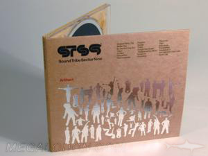 cd packaging silver foil on fibreboard fiberboard disc packaging