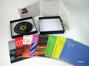 Box Set multi disc cd set packaging with 2pp jackets