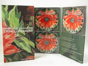 DivineCollaboration 4pp Tall Traypack 3xCD slipcase matte lam