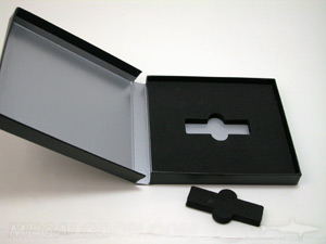 usb packaging custom cut out foam
