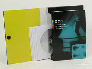Multi disc cd retail box set with book