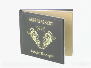 CD Book Packaging Hard cover with inner pages perfect bound