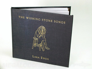 hardcover cd book with swinging sleeve and inner booklet pages