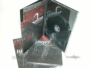 dvd digipak clear tray literature pocket booklet