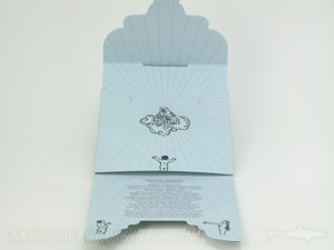 custom cd jacket die tuck envelope scalloped
