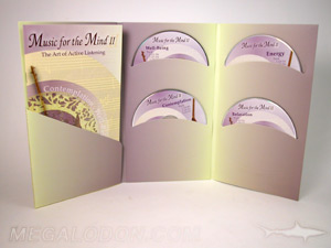custom dvd set tall jacket curved pockets booklet