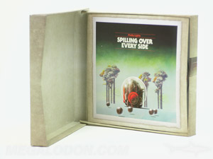Hard cover chipboard cd box set