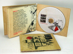 CD Cork hub jaclet LP cover style packaging