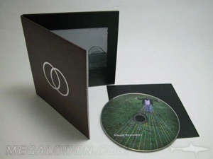 CD Book LP Packaging with inner sleeve and cd