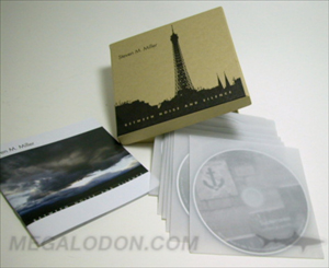 CD DVD Box packaging vellum sleeves