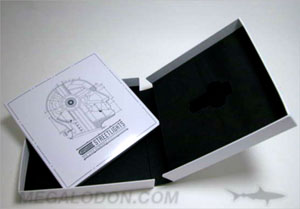 USB book box set packaging chipboard foam