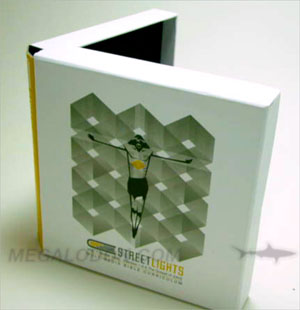 Custom Box with book and DVD