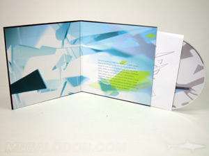 CD DVD Hard bound album cover packaging