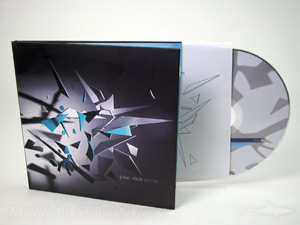 CD LP Book Binding with inner sleeve