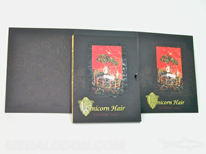 Slipcase set jacket spot gloss gold foil