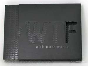 cd slipcase die cut lettering spot gloss