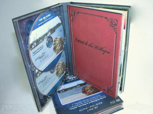 DVD Digi Book Packaging 5dvd set multidisc