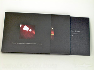 cd slipcase set recycled paper matte