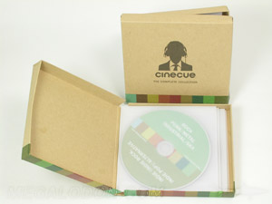 Chipboard Box for cds or dvds