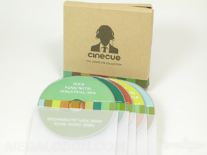cd dvd box set chipboard rigid