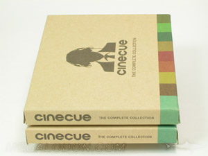 Rigid chipboard cd dvd box 5x5