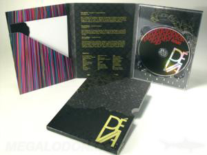 DVD CD traypack slipcase foil spot gloss 6 panel set