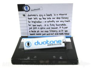 usb packaging small box set duotone cassette design