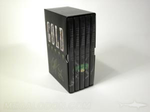 DVD slipcase 5 case box set