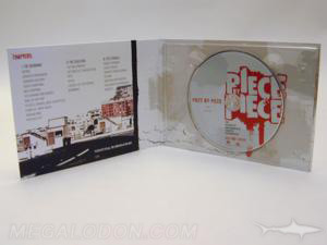Wide CD DVD traypack booklet