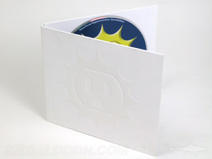 cd pack Spot gloss effect on disc jacket