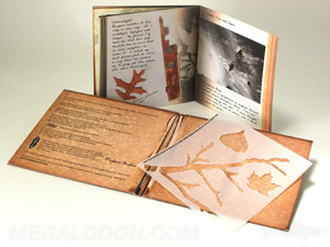 Custom Rustic cd jacket packaging