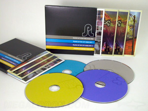 CD jacket slipcase set 4 discs in jackets