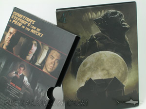 DVD Slipcase set, movie packaging, double wall construction slipcase with thumbnotch