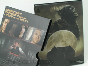 tall dvd slipcase set spot uv gloss