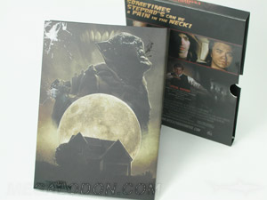DVD slipcase packaging mat lamination