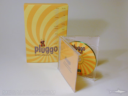 Small cd software box packaging multi disc sets