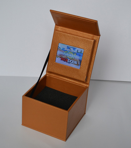 Leather video gft presentation box