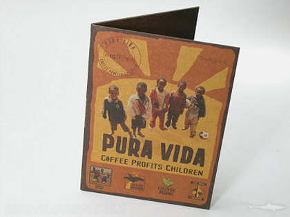 fiberboard paper cd dvd packaging