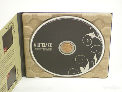 Digipak matte uncoated recycled tray