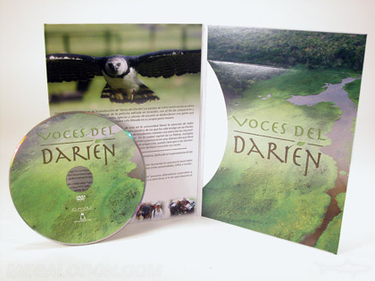 Recycled dvd jacket packaging