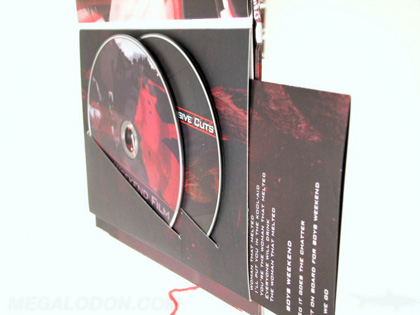 Digibook with custom sleeve two disc set
