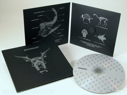 silver metallic ink spot printing on cd jacket foam hub