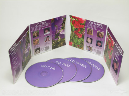 4cd set jacket with four pockets packaging