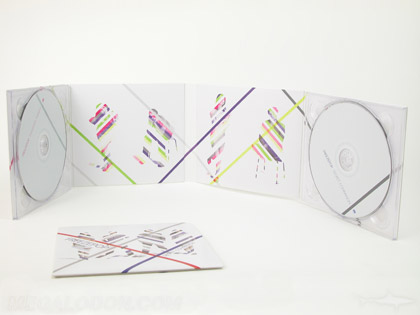 2CD Set double cd packaging