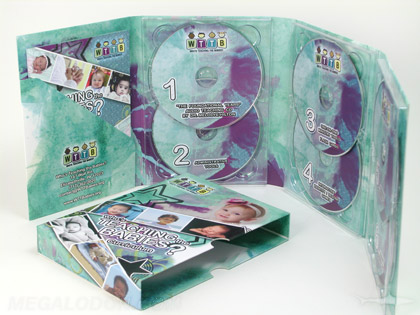 Ministry disc packaging for multi cd and dvd