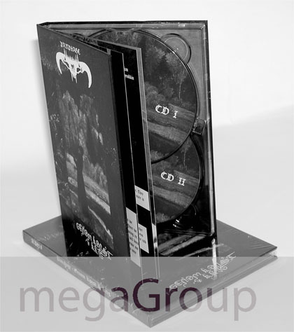 double disc dvd book hardbound tall tray