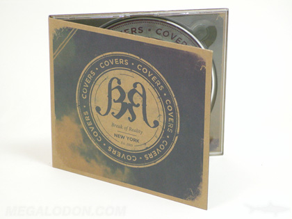 fiberboard paper recycled digipak cd packaging